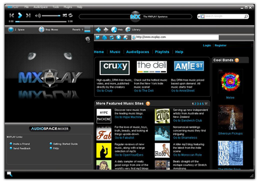 Mxplay Recolectando Mp3 por la web