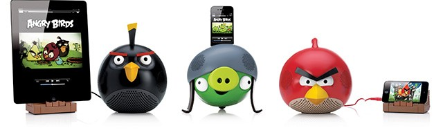 Angry Birds se transforma en dock para iPhone, iPod y iPad